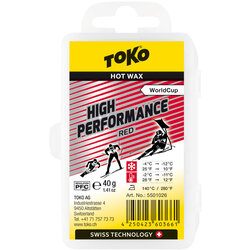 Toko Toko High Performance Red 40g