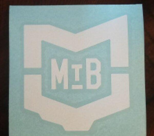 "MVMBA Miami Valley Mountain Bike Association MVMBA 4"" Vinyl Logo Sticker"