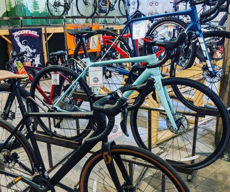 Bicycles on Sales Floor