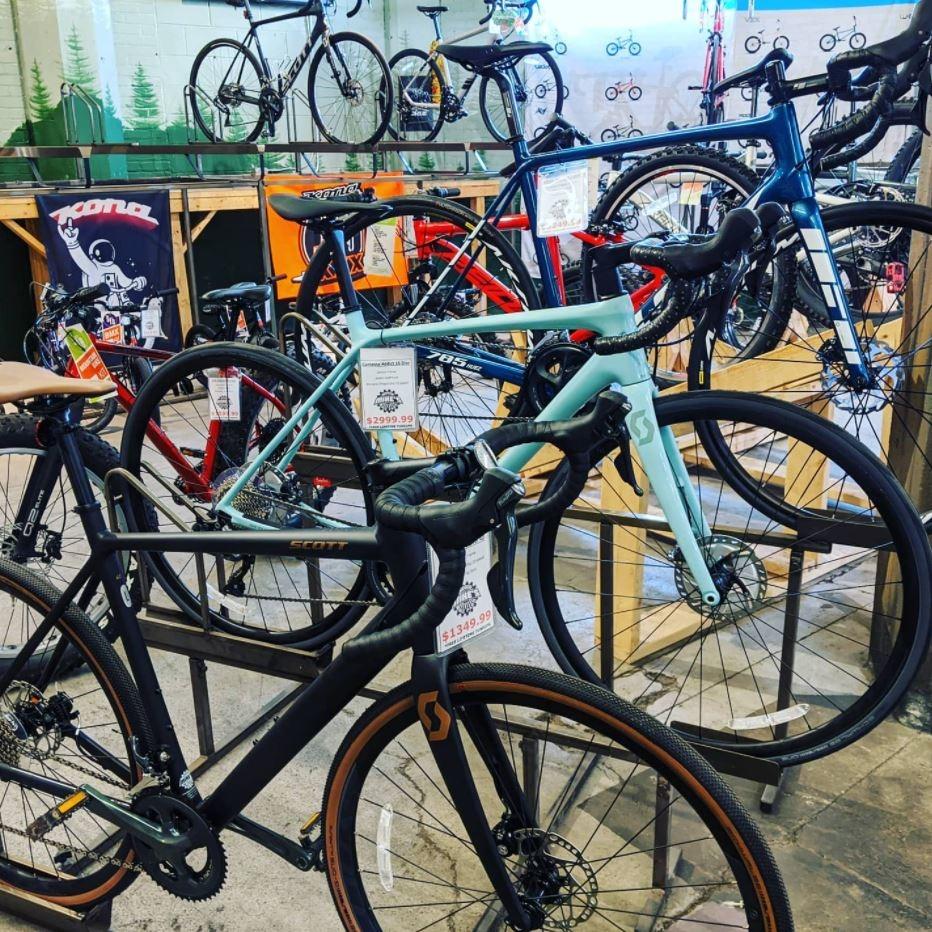 Bikes on Sales Floor