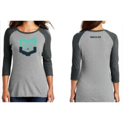 MVMBA Miami Valley Mountain Bike Association MVMBA 3/4 Sleeve Women T-Shirt
