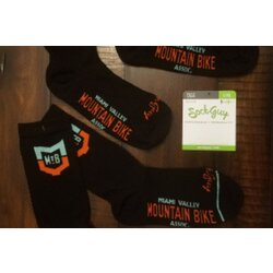 MVMBA Miami Valley Mountain Bike Association MVMBA Logo Socks