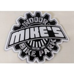 Mike's Bike Park MBP Logo Magnet Die Cut Small