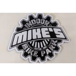Mike's Bike Park MBP Logo Die Cut Large Sticker