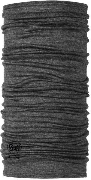 Buff Buff Lightweight Merino Wool Multifunctional Headwear - Grey, One Size