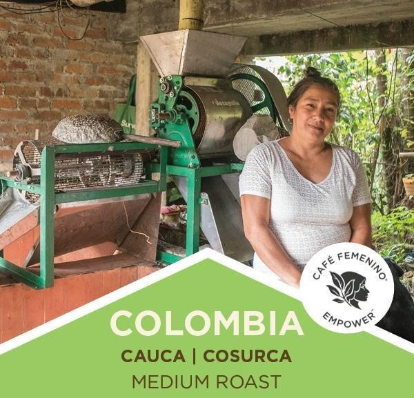 Coffee   Colombia   Café Femenino   Cauca   Medium Roast   Ground