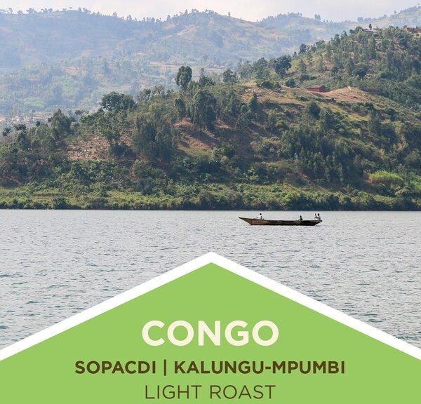 Soulshine Cyclery Coffee | Congo | SOPACDI Co-Op | Micro-Station | Light Roast | Whole Bean