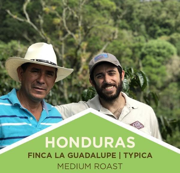 Coffee | Honduras | Finca La Guadalupe | Typica | Medium Roast | Whole Bean