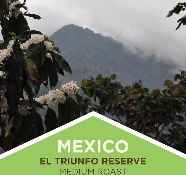 Coffee   Mexico   El Triunfo Reserve   Medium Roast   Whole Bean