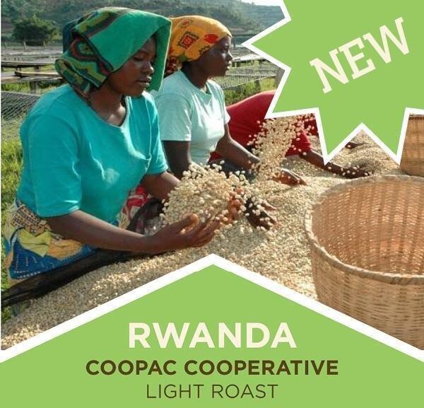 Coffee | Rwanda | COOPAC | Light Roast | Whole Bean