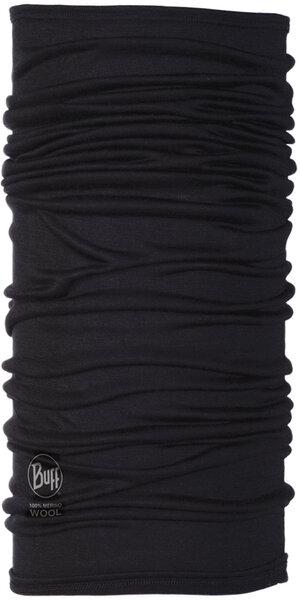 Buff Buff Lightweight Merino Wool Multifunctional Headwear - Black, One Size