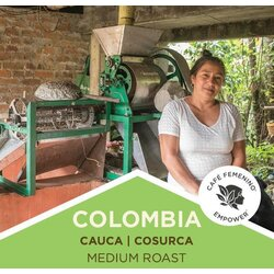 Coffee | Colombia | Café Femenino | Cauca | Medium Roast | Whole Bean