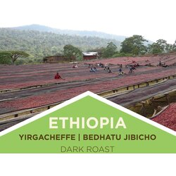 Coffee | Ethiopia | Yirgacheffe - Bedhatu Jibicho - Dark Roast | Ground