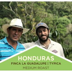 Coffee | Honduras | Finca La Guadalupe | Typica | Medium Roast | Whole Bean
