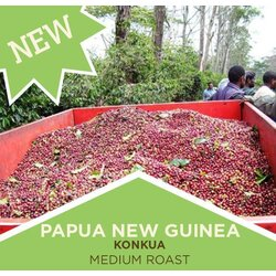 Coffee | Papua New Guinea Konkua - Medium Roast | Whole Bean