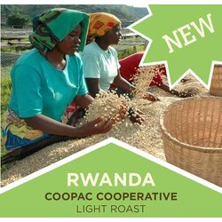 Coffee | Rwanda | COOPAC | Light Roast | Ground