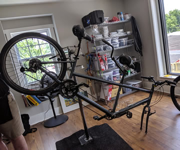 Bicycle to ebike conversion kit