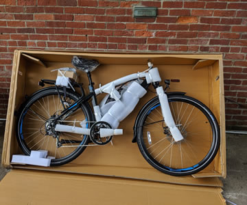 Bike boxing service for shipping