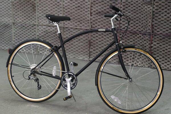 Detroit Bikes US CHROMOLY A-TYPE (LARGE, MATTE BLACK) HERITAGE EDITION
