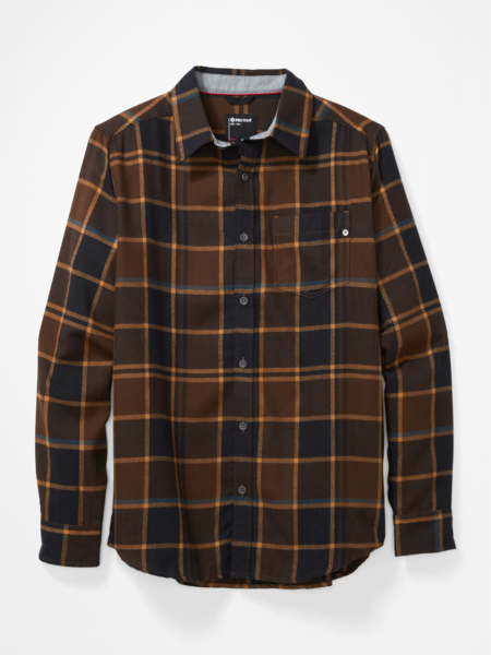 Marmot Men's Fairfax Midweight Flannel Long-Sleeve Shirt