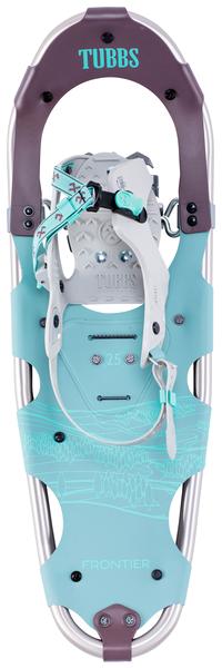 Tubbs Women's Frontier Snowshoe Light Blue