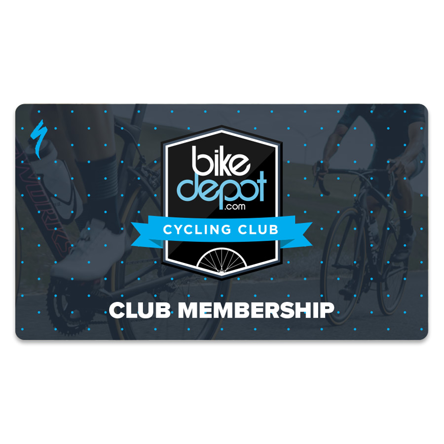 An image of the Bike Depot Cycling Club Membership card