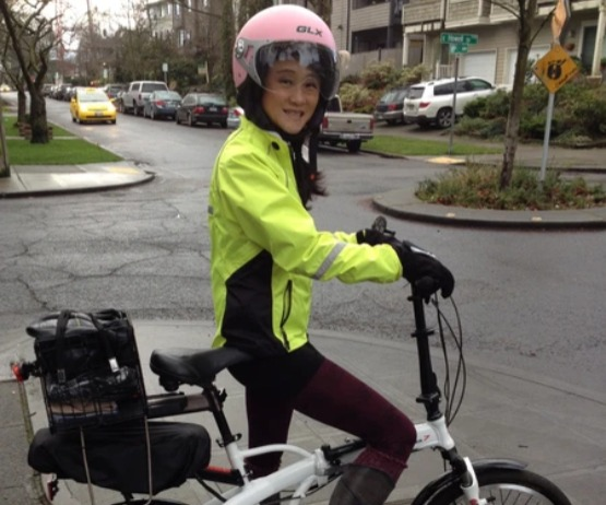Helen, Seattle E-Bike customer