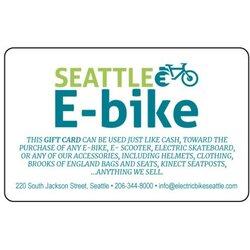 Seattle E-Bike Gift Card