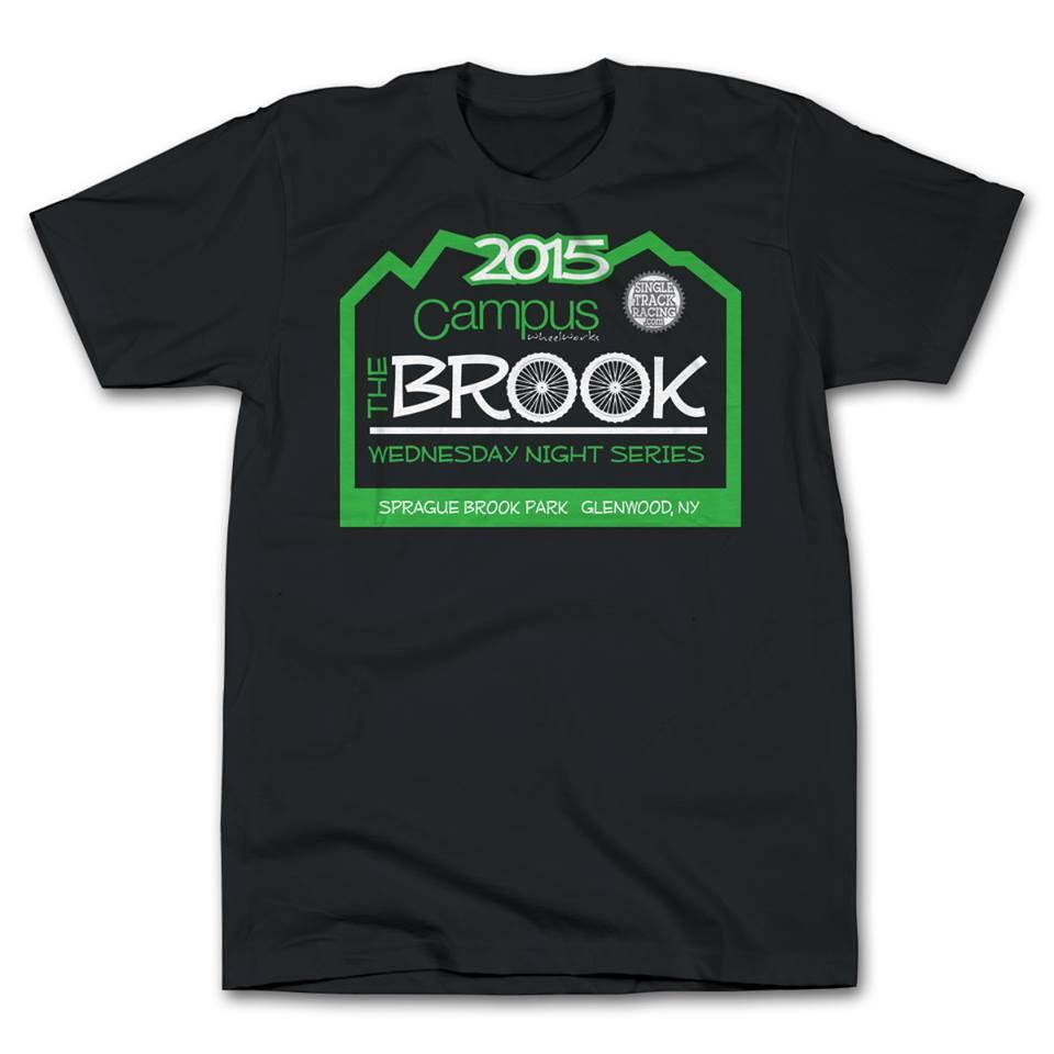 race the brook mountainbike tee shirt