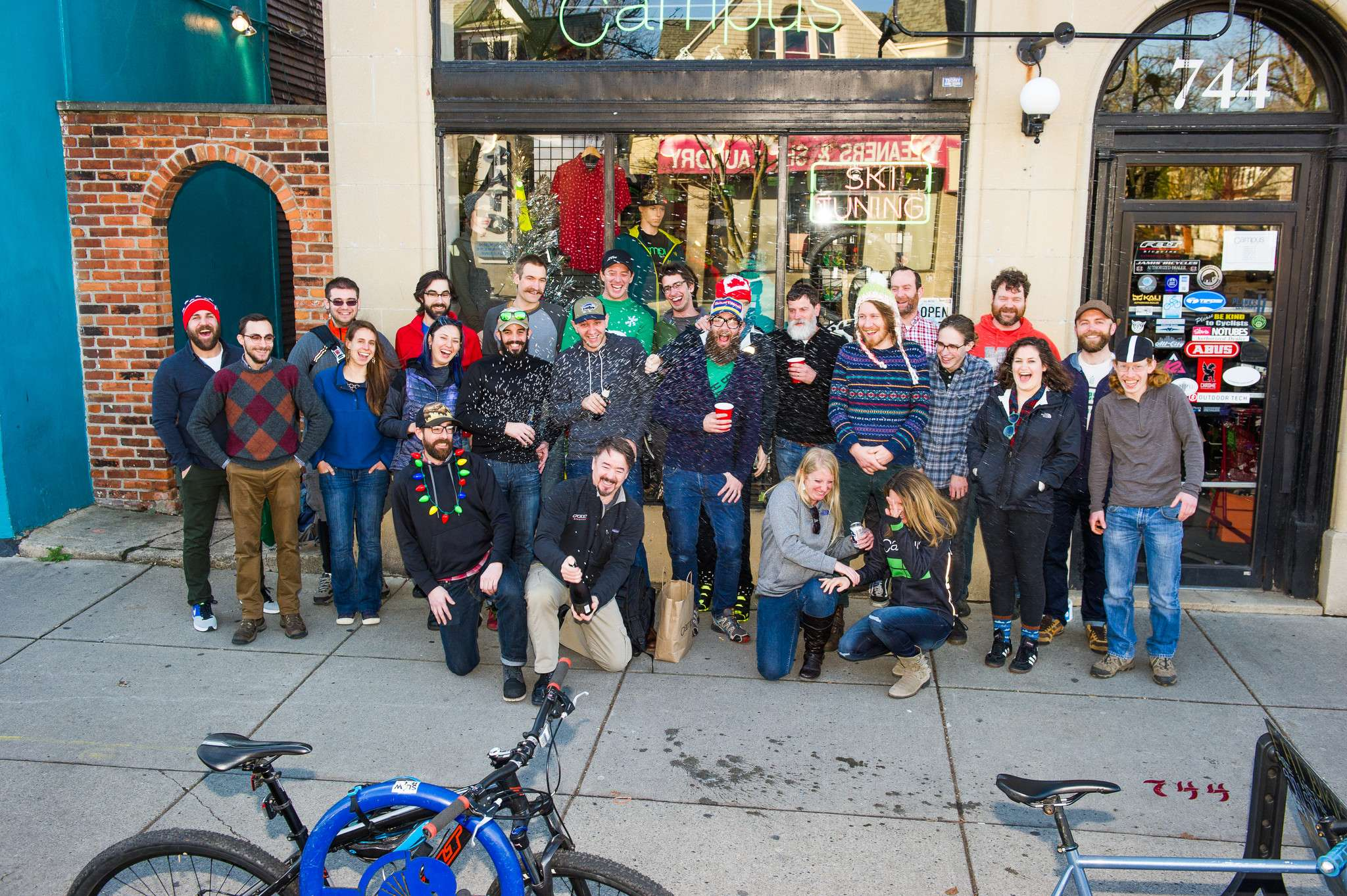 campus wheelworks holiday party