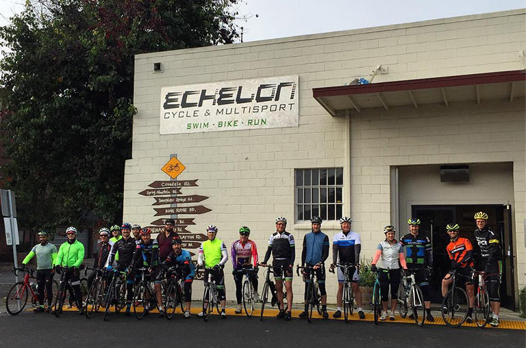 Front of Echelon Cycle Bike Shop