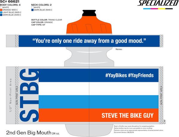 STBG Specialized Waterbottle