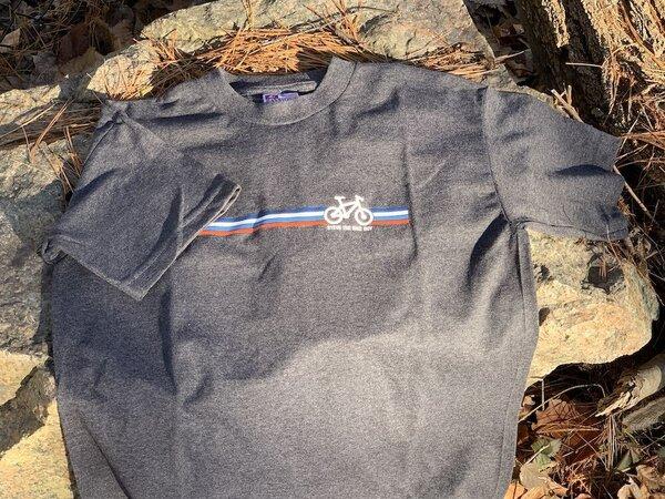 STBG Bike Stripes 50/50 Short Sleeve T-Shirt