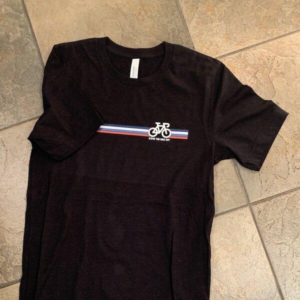 STBG Road Bike Stripes Men's T-shirt