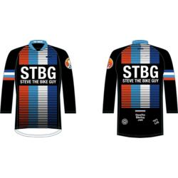 STBG Race Flag 3/4 Sleeve MTB Jersey Men
