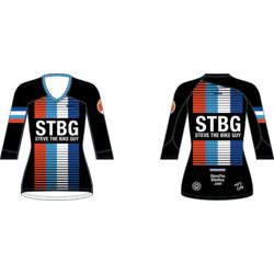 STBG Race Flag 3/4 Sleeve MTB Jersey Women
