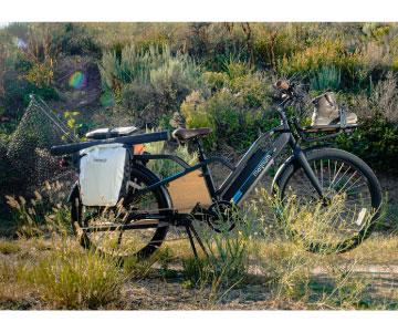 cargo electric commuter bike