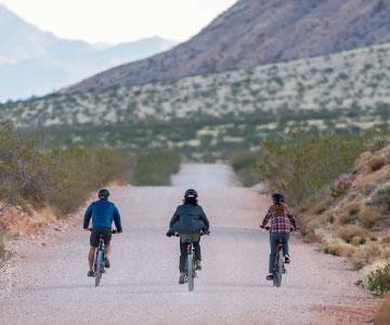 E-bike rides with friends