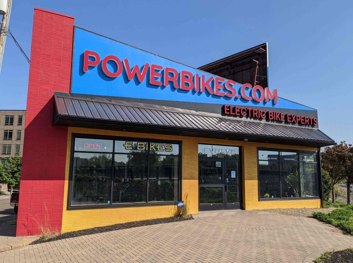 Powerbikes.com St. Louis Park storefront