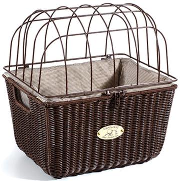 Nantucket BASKET NANTUCKET SOMMER PET QR BROWN RECTANGLE
