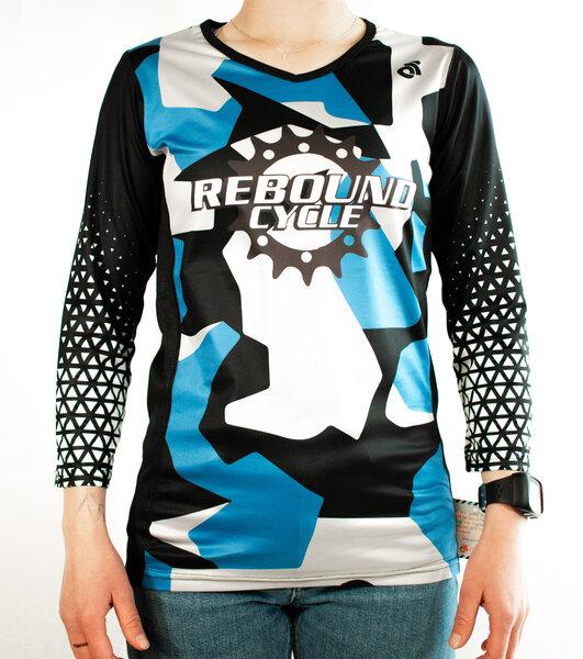 Rebound Custom Women's Rebound Custom 3/4 Sleeve MTB Jersey