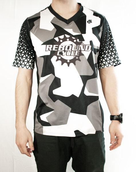 Rebound Custom Men's Rebound Custom 3/4 Sleeve MTB Jersey