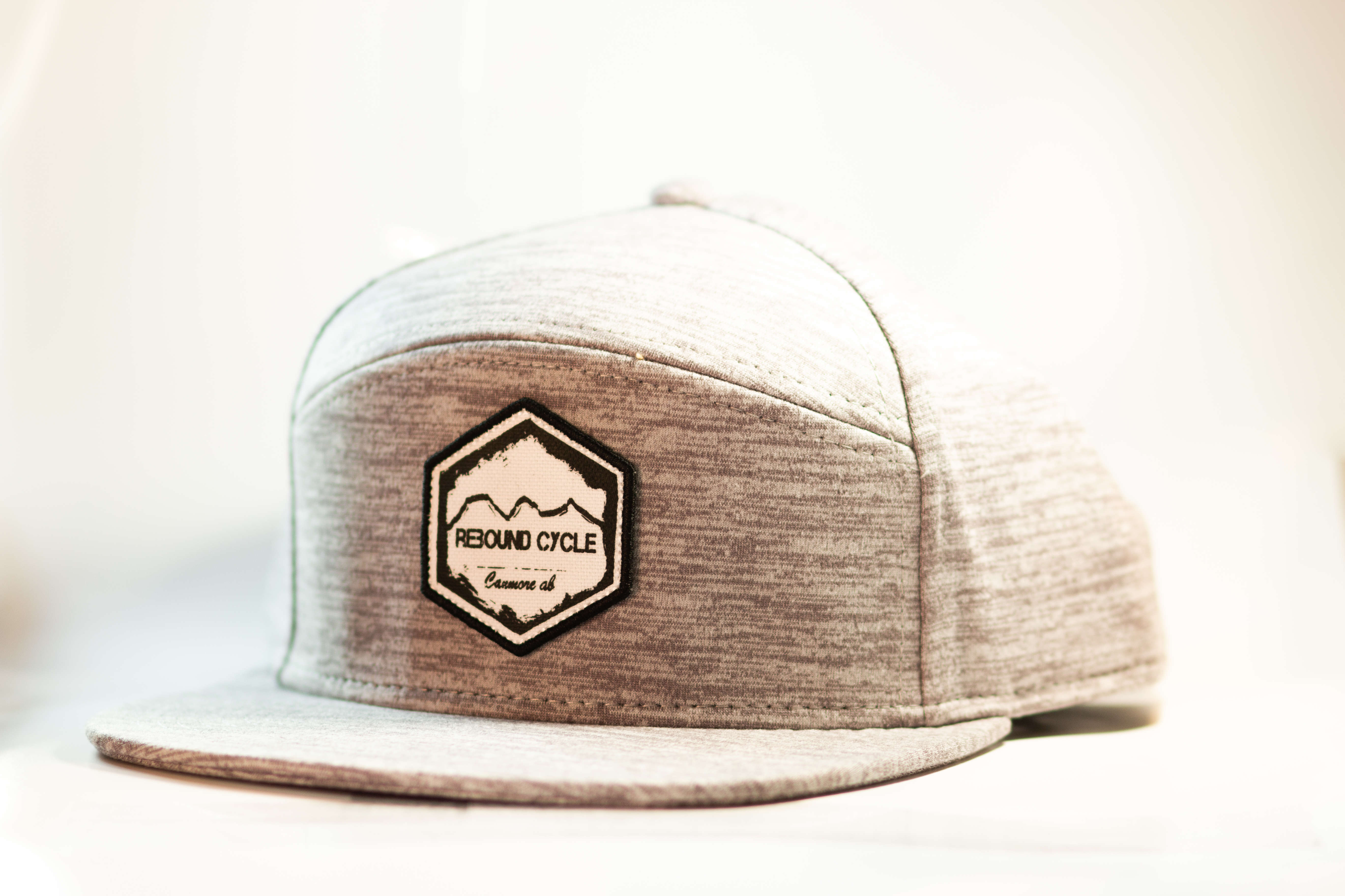Rebound cycle charcoal hat