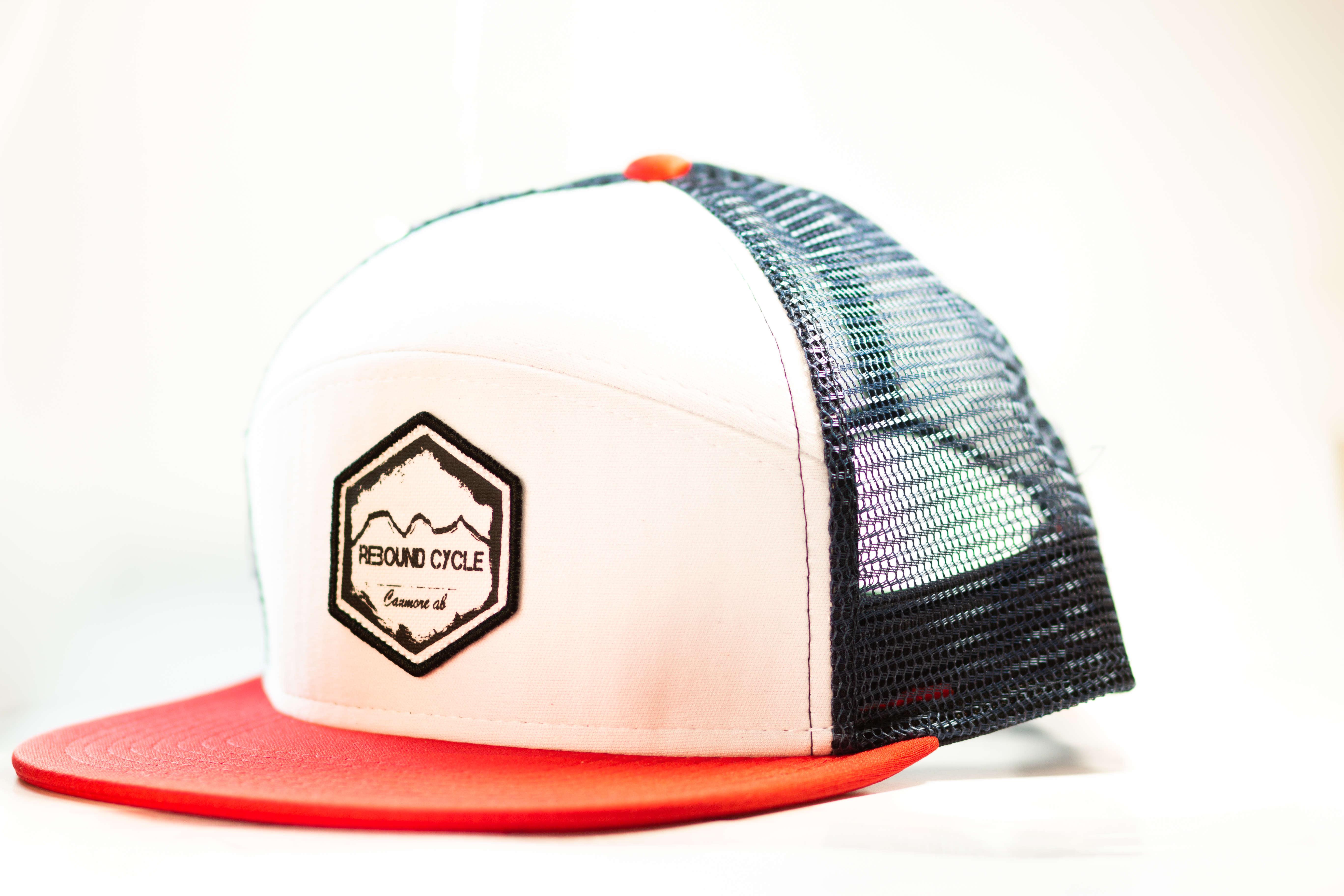 Rebound cycle trucker hat
