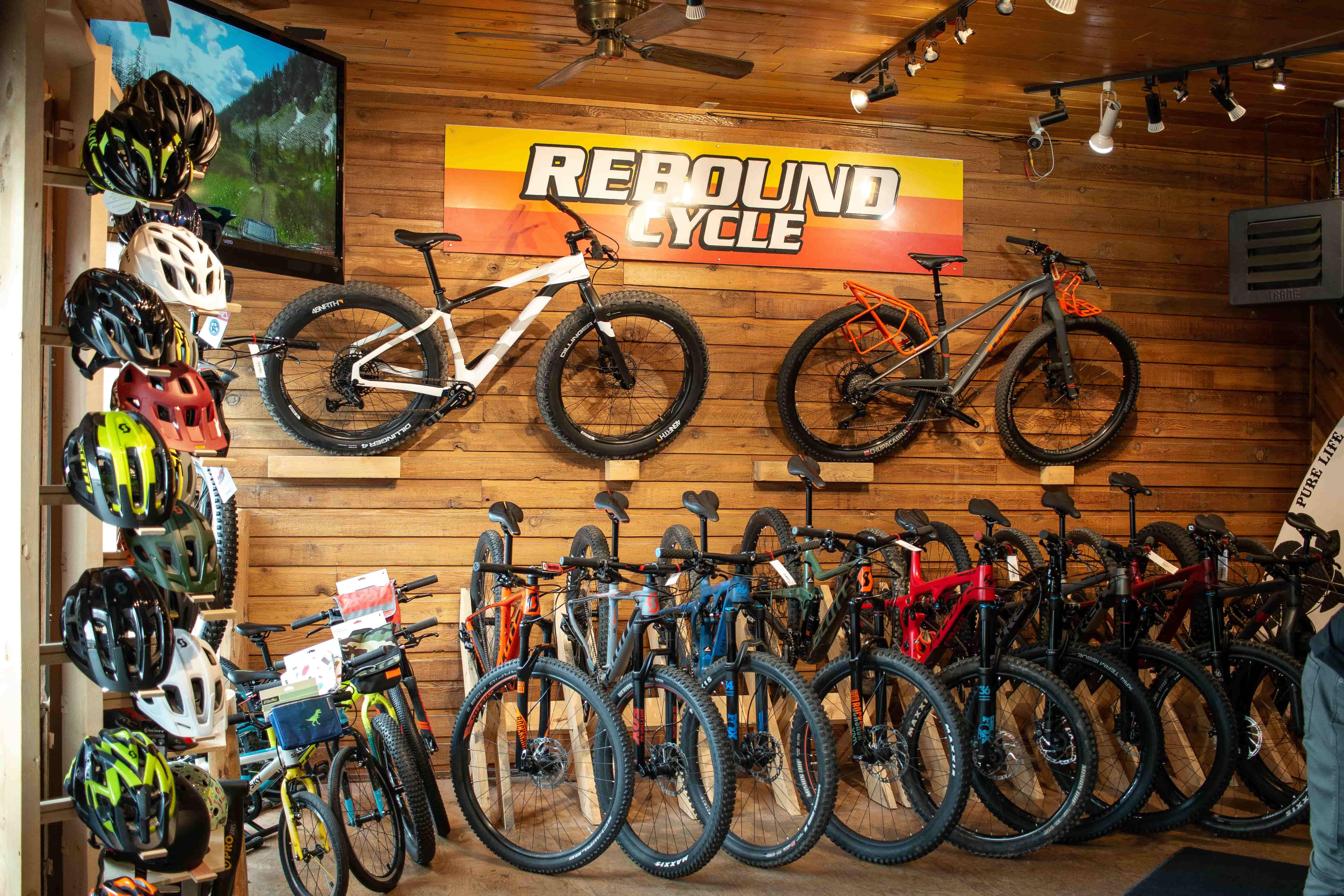 Rebound Cycle shop