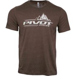 Pivot Cycles Geometric Peaks T-Shirt