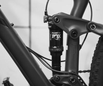 Mountain bike rear shock