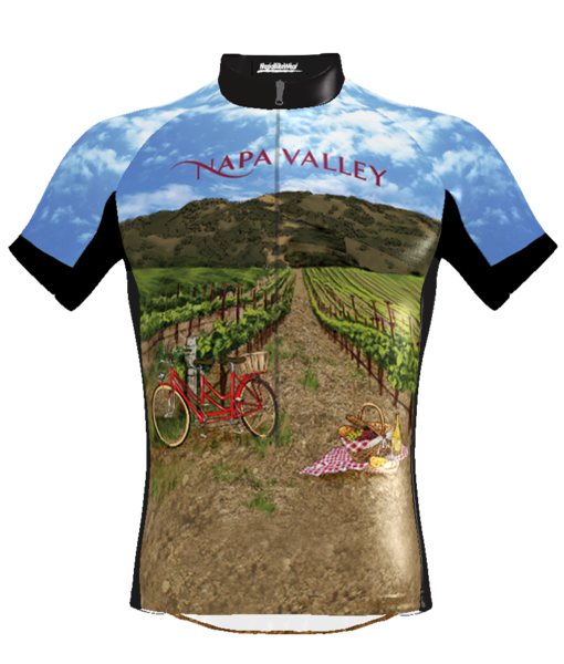 Napa Bike Wear CBS Jersey Picnic Women's Relaxed Fit