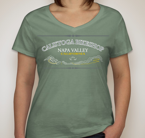 Napa Bike Wear CBS T-shirt Retrolady