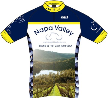 Napa Bike Wear Napa Valley Photo Jersey